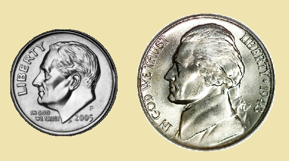 Small Dime vs Big Nickel